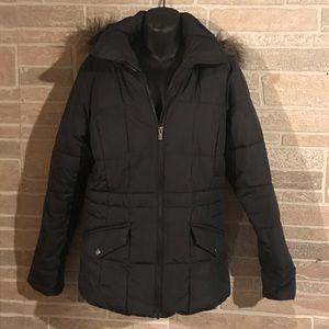 Women's medium Columbia jacket with hood